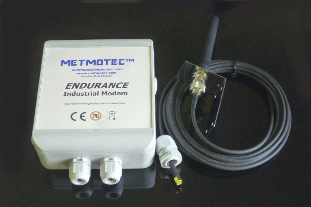 'ENDURANCE' environmentally tolerant modem systems can be supplied with PSTN or GSM/GPRS modems